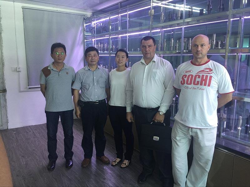 2012 customer visiting